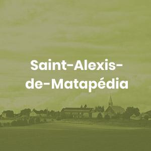 Bouton Saint-Alexis-de-Matapédia