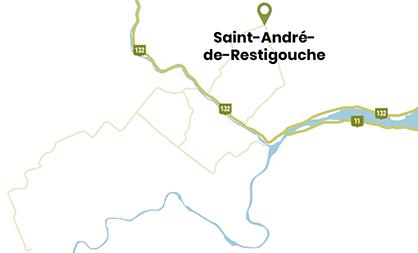 Mini varte Saint-André-de-Restigouche